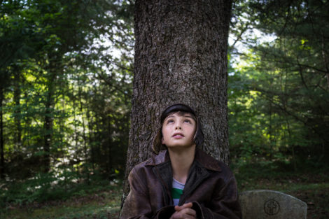 Twelve-year-old Jackson Smith of Housatonic, Mass., in Karen Allen's new film, 'A Tree, A Rock, A Cloud,' based on a Carson McCullers short story.