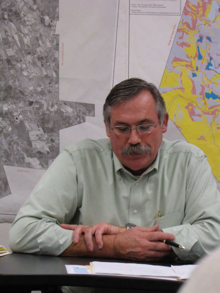 Egremont selectboard Chairman Bruce Turner. Photo: David Scribner