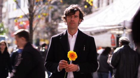 Stefan Sagmeister in his film, 'The Happy Film.'