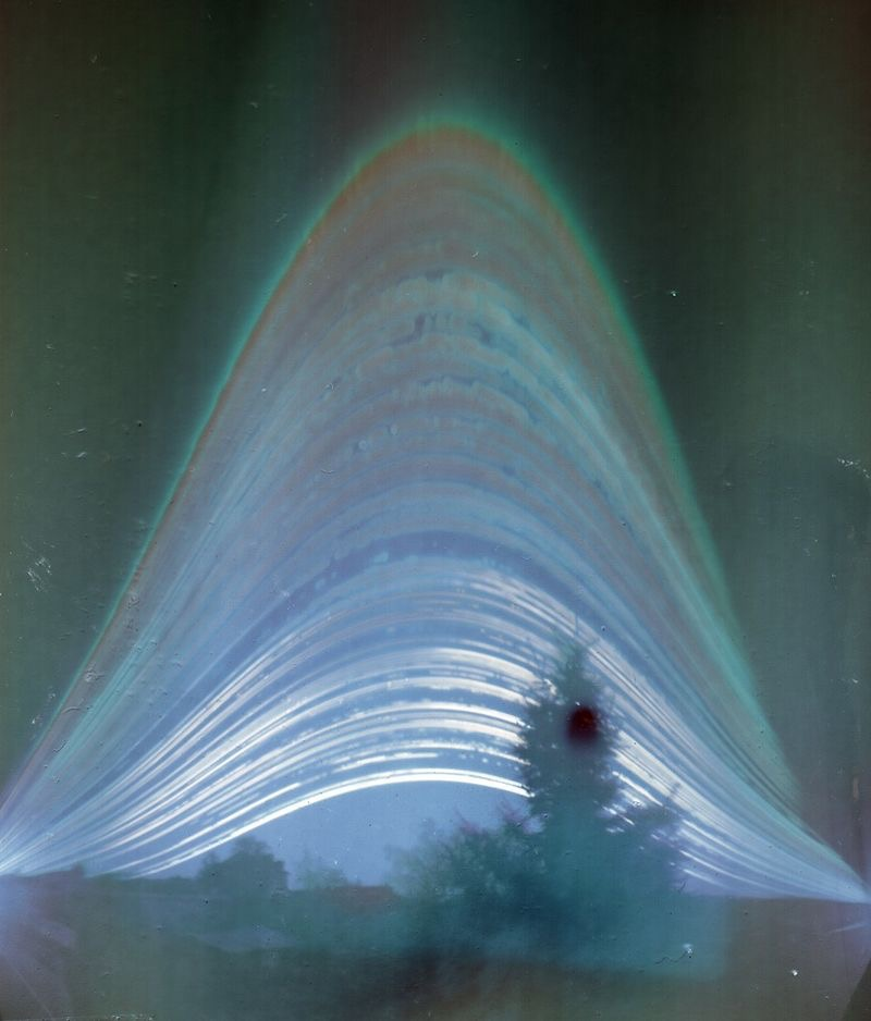 Solargraph from Sashay - Budapest, 2014.01.01 - 2014.12.31. Image courtesy Wikipedia