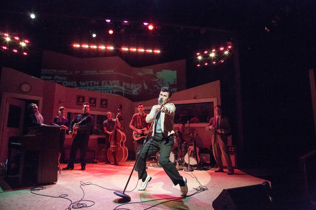 Brycen Katolinsky in 'Million Dollar Quartet.' Photo: Emma Rothenberg-Ware