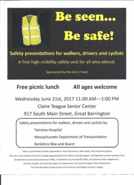 Sidewalk safe poster