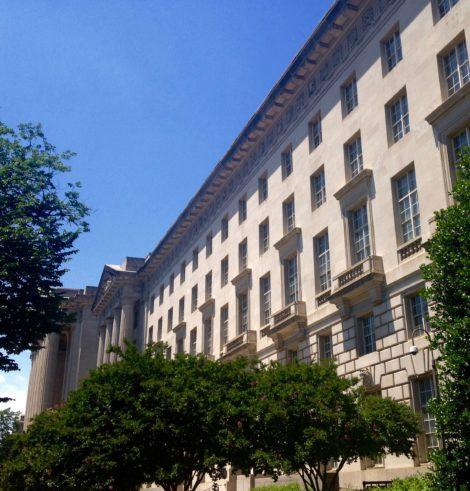 Environmental Protection Agency office building in Washington, D.C. Photo: Mary Douglas