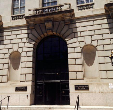 The entrance to EPA offices in Washington. Photo: Mary Douglas