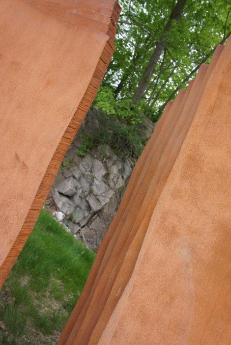 'Puerta,' by Gene Montez Florez. Photo: Hannah Van Sickle