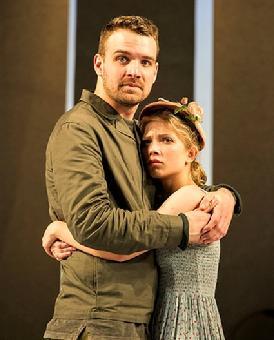 Micah Stock as Tuzenbach and Tavi Gevinson. Photo: Daniel Rader
