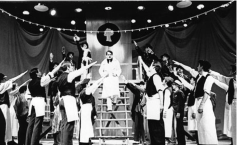 Berthold Brecht's 'Resistible Rise of Arturo Ui' at the 1972 Williamstown Theatre Festival. Photo: Archer Mayor