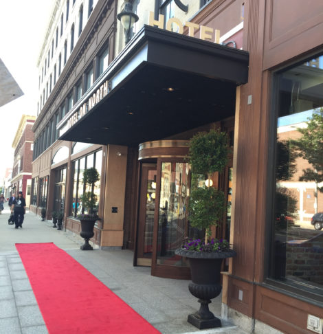 The upscale Hotel on North opened in 2015 in downtown Pittsfield.