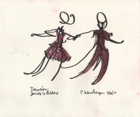 Danzón, Ballet Hispánico. Illustration: Carolyn Newberger