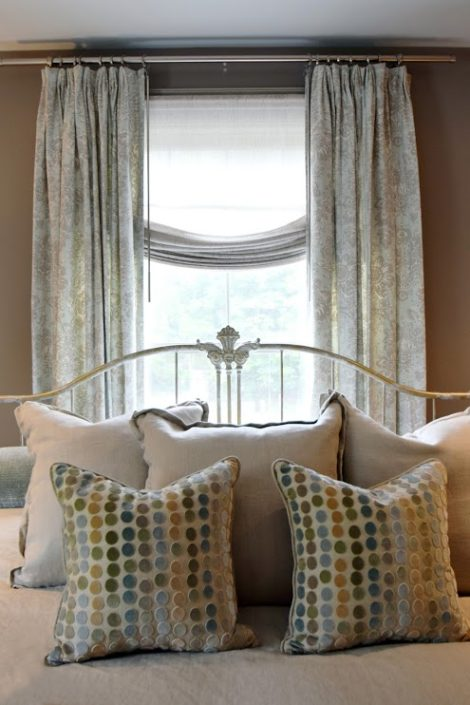 The fabrics on the bed pull the look together. Photo: Jane Feldman