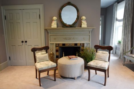 Fireplace after. Photo: Jennifer Owen