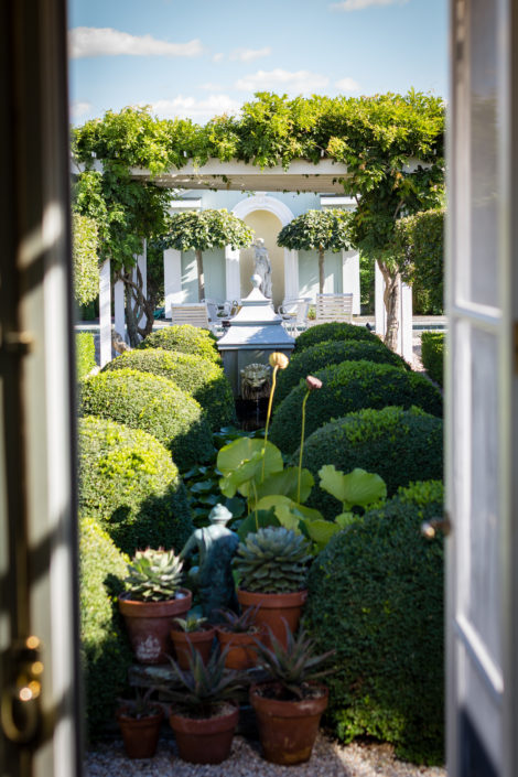 The CLASSICAL Garden at Classical House.