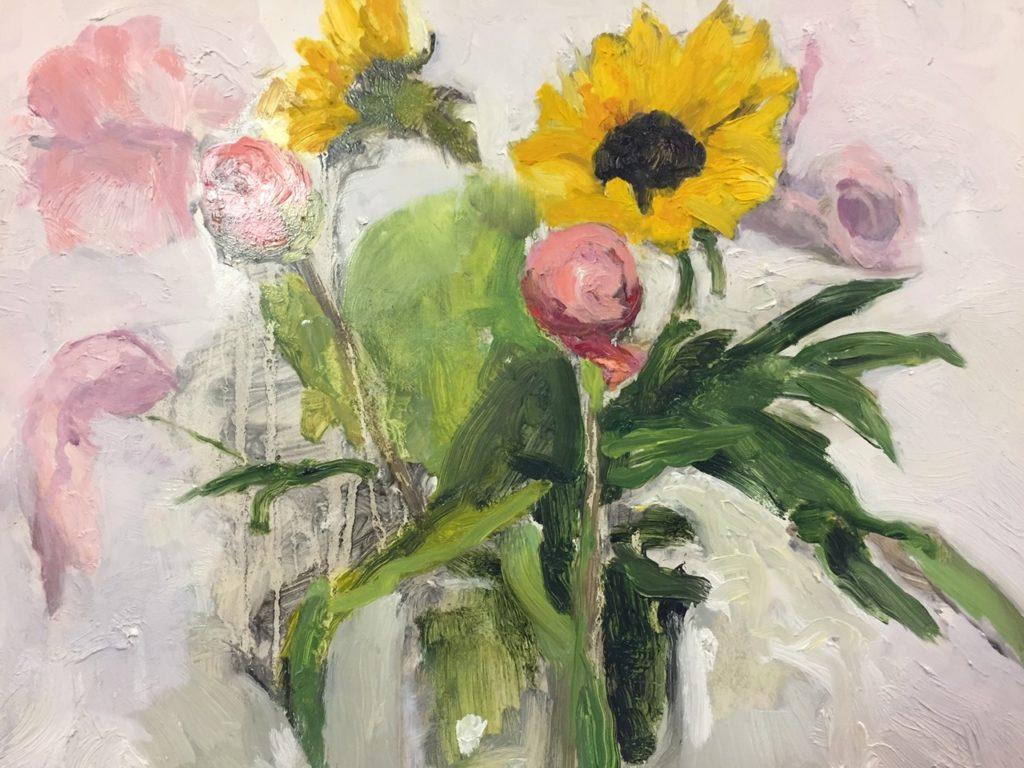'Sunflowers I' by Anne Navasky