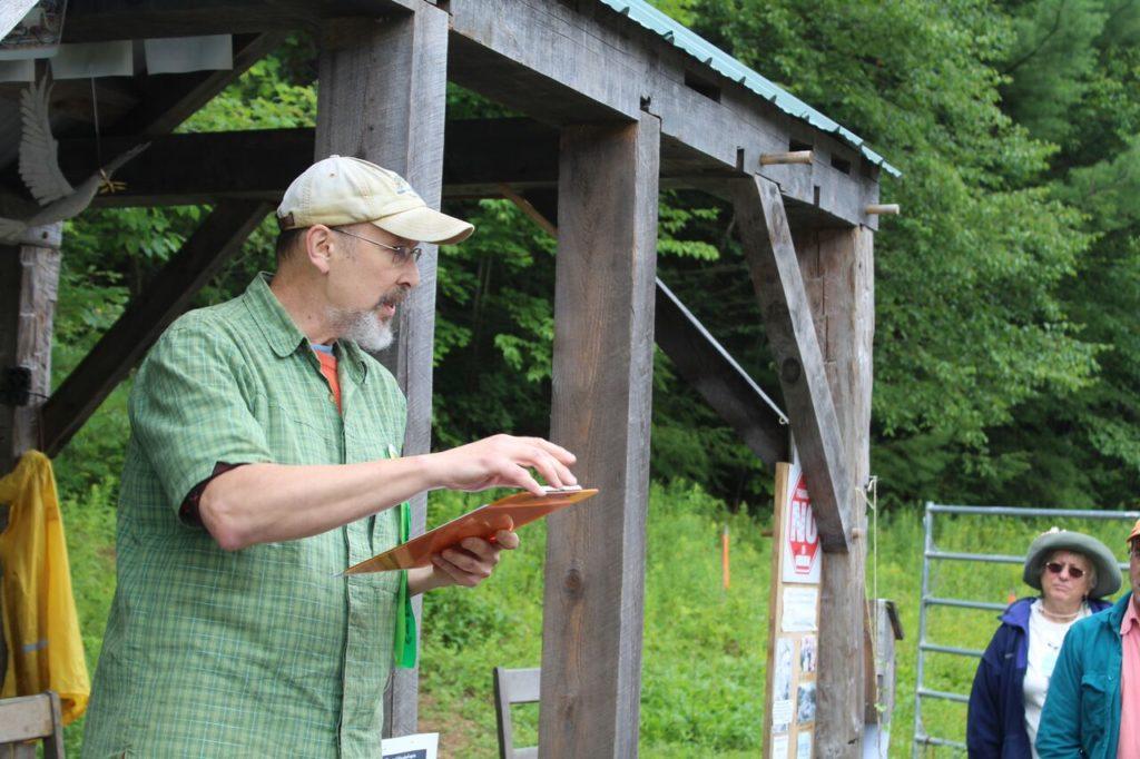Bob Barba of the Sugar Shack Alliance. Photo: Terry Cowgill