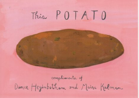 The Uncertainty Potato. Illustration by Carolyn Newberger