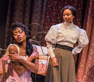 Medina Senghore as Mayme and Nehassaiu deGannes as Esther. Photo: Stratton McCrady
