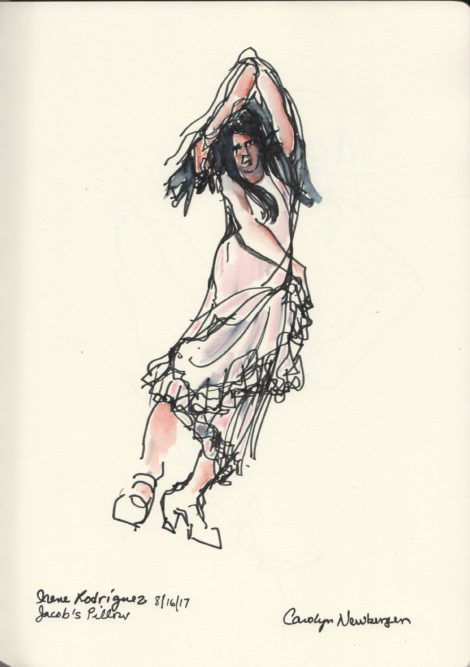 Irene Rodriguez. Illustration by Carolyn Newberger