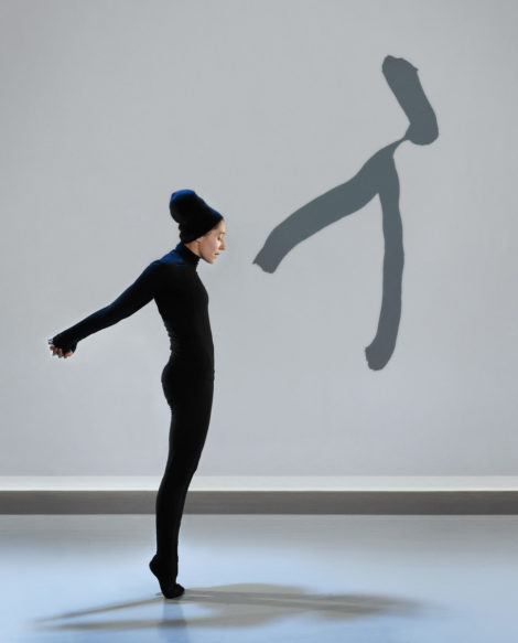 Carol Prieur from Compagnie Marie Chouinard in 'Henri Michaux: Mouvements.' Photo: Marie Chouinard