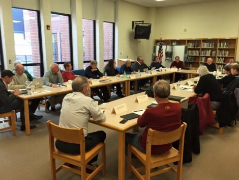 Berkshire County Education Task Force (BCETF) meeting in July.