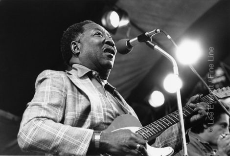 Muddy Waters performing at the Music Inn. Photo: Lee Everett