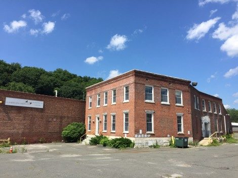 An addition to the original Eagle Mill that would be included in the development project.