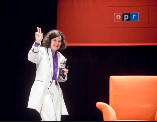 Paula Poundstone on NPR's 'Wait Wait ... Don't Tell Me.' Photo: Alain McLaughlin Photography Inc