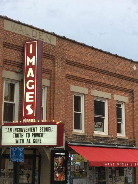 Images Cinema in Williamstown, where 'An Inconvenient Sequel' will be shown this week. Photo: Dana Drugmand