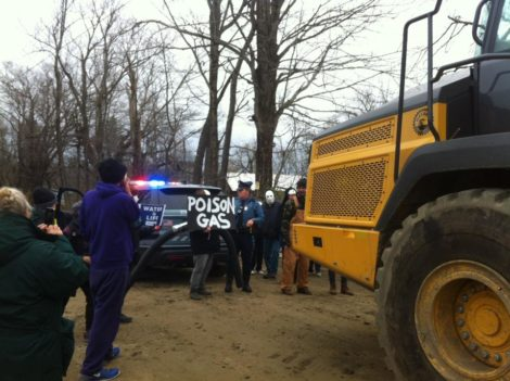 Pipeline protests turn violent as aggressive police tactics