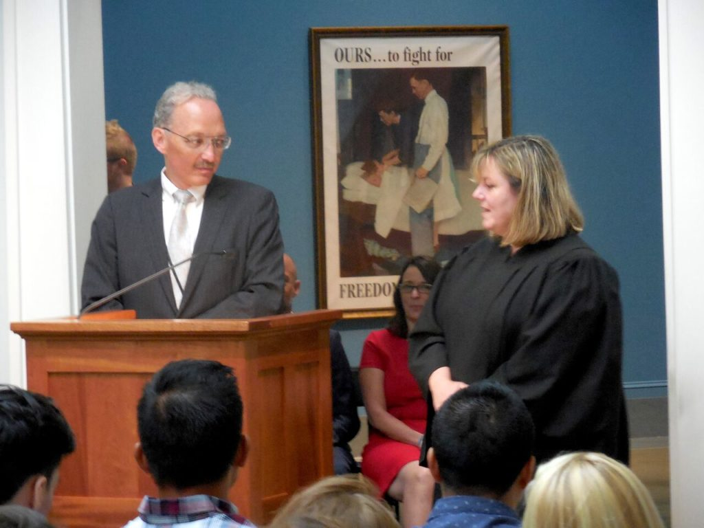 Long process' bears fruit for 23 new U S  citizens in ceremony at
