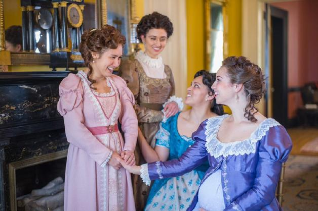 Miss Bennet Christmas At Pemberley.Theatre Review Miss Bennet At The Rep Is A Witty