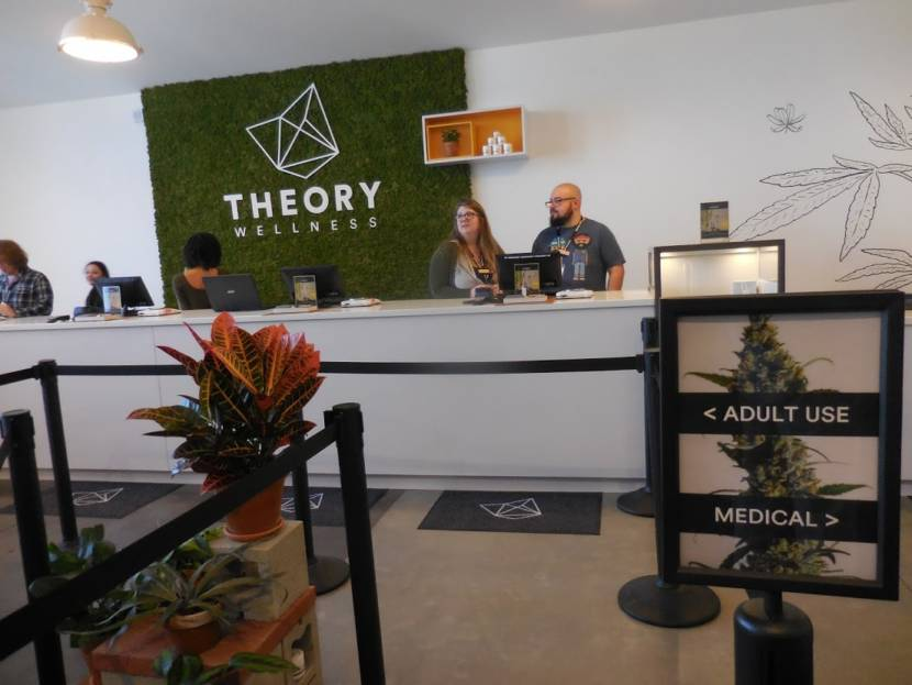 Let the recreational pot sales begin — at least in 'Theory' |