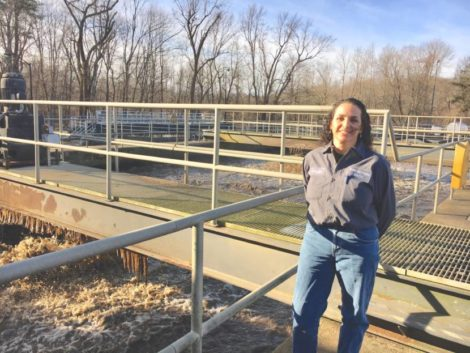 Wastewater treatment plant's assistant operator earns top EPA award