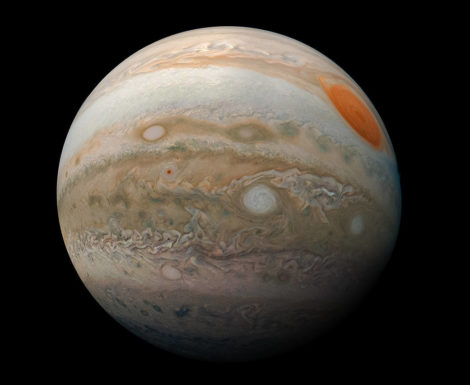 EYES TO THE SKY: Jupiter shines all night. Sun's longest days