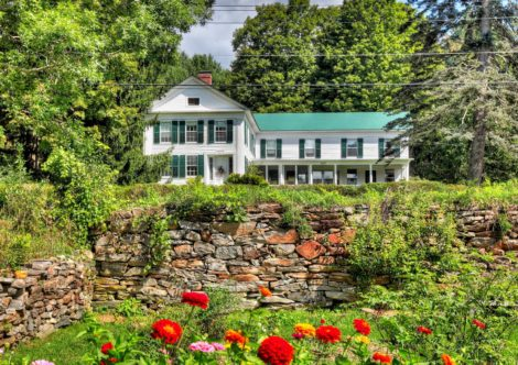 Elmwood, a Historic Home on 53 Acres with Mountain and Pastoral Views