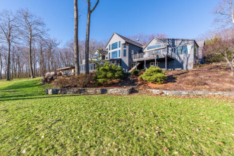 Stunning Property Designed by Michael Schmitt and Renovated by Peter Whitehead on 90 Acres with Exceptional Tri-State Views!