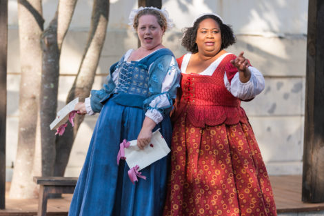 REVIEW: Shake & Co's 'The Merry Wives of Windsor' still merry, rain or shine