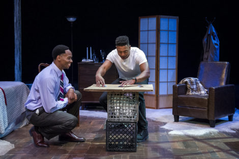 THEATRE REVIEW: Shake & Co.'s 'Topdog/Underdog' a compelling play about essential relationships