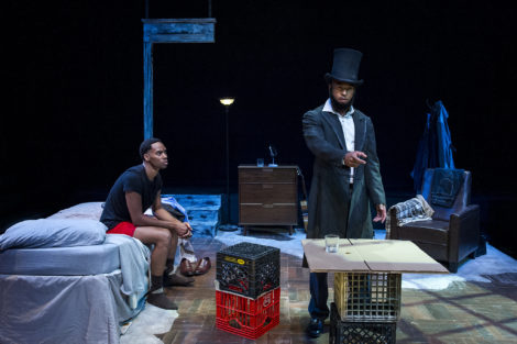 REVIEW: 'Topdog/Underdog' at Shake & Co. a superb production about a desperate struggle to survive