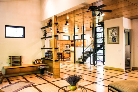 Frank Lloyd Wright-inspired Custom Contemporary Built by Master Craftsman