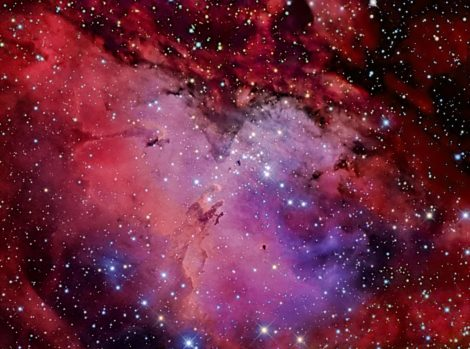 EYES TO THE SKY: Amateur astronomers soar: The Eagle Nebula