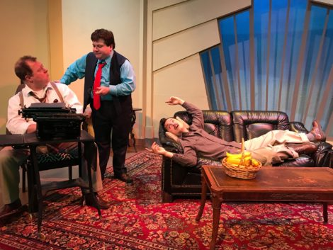 THEATRE REVIEW: the Theater Barn's 'Moonlight and Magnolias' makes us laugh while learning something
