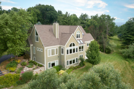 Great Barrington contemporary with views, views, views!