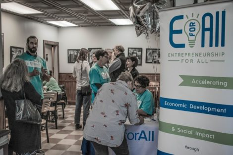 Business Briefs: EforAll pitch contest; Shake & Co. appoints Dibble; workshops for nonprofits; grant for Riverbrook; recognition for Noble Horizons