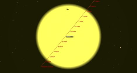 EYES TO THE SKY: Planet Mercury crosses Sun today, Venus and Jupiter meet on the 24th