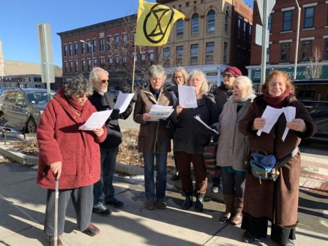 Extinction Rebellion seeks to forestall climate change