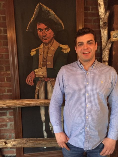 Chef's Italian roots influence his cooking at Stagecoach Tavern