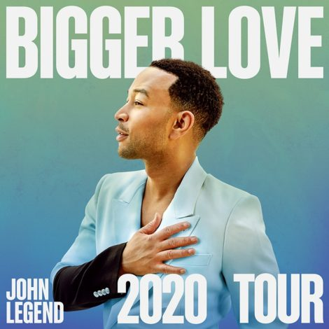 John Legend coming to Tanglewood Aug. 28