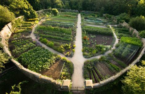 NATURE'S TURN: William Robinson's grand kitchen garden and wild gardens at Gravetye Manor