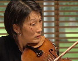 Boston Symphony Orchestra violinist Lucia Lin