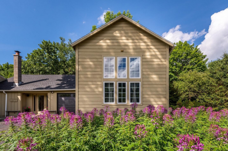 Renovated barns for home and business